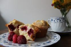 Muffin de frambuesa